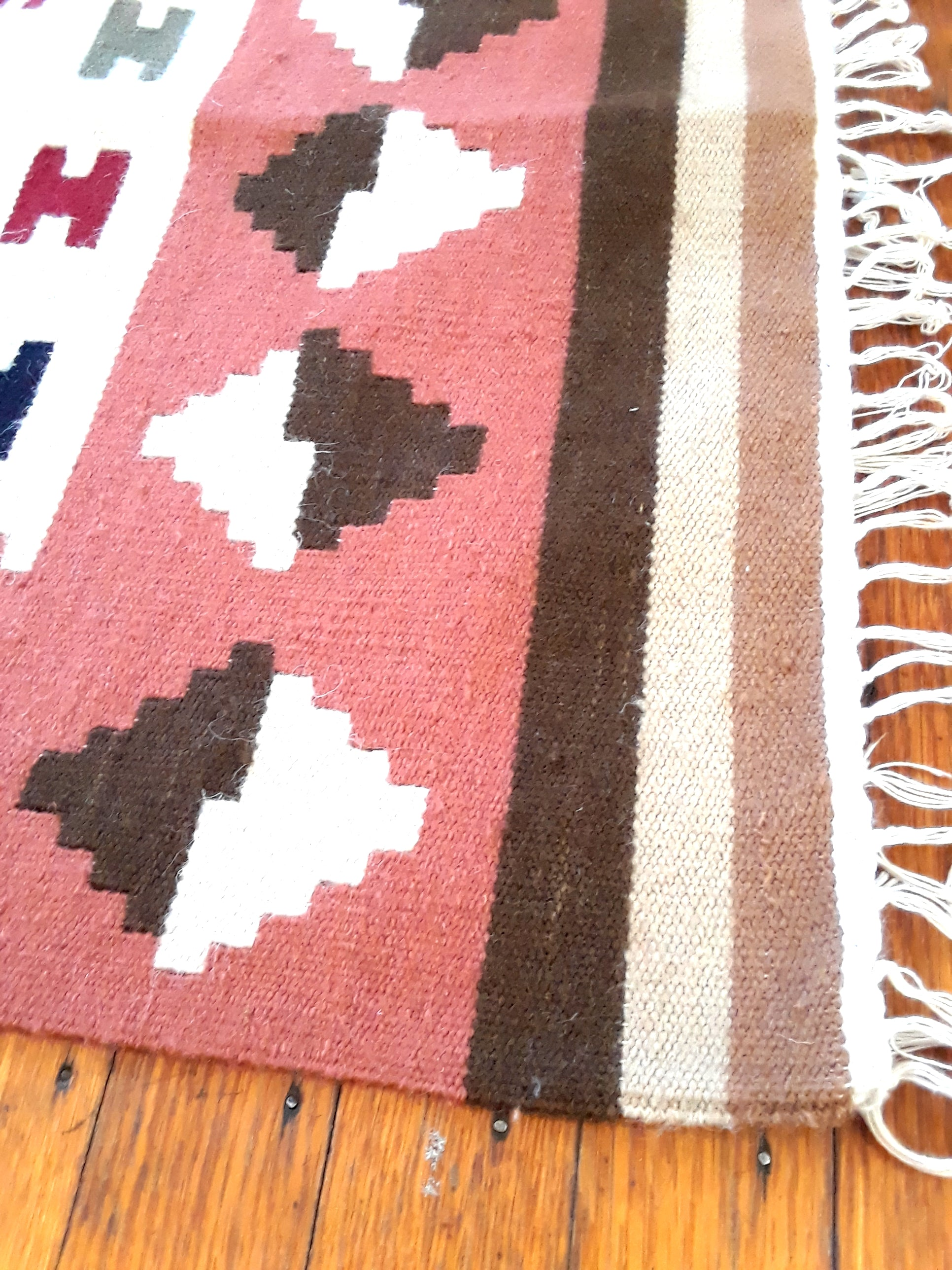 Brown Dragon Egyptian Kilim