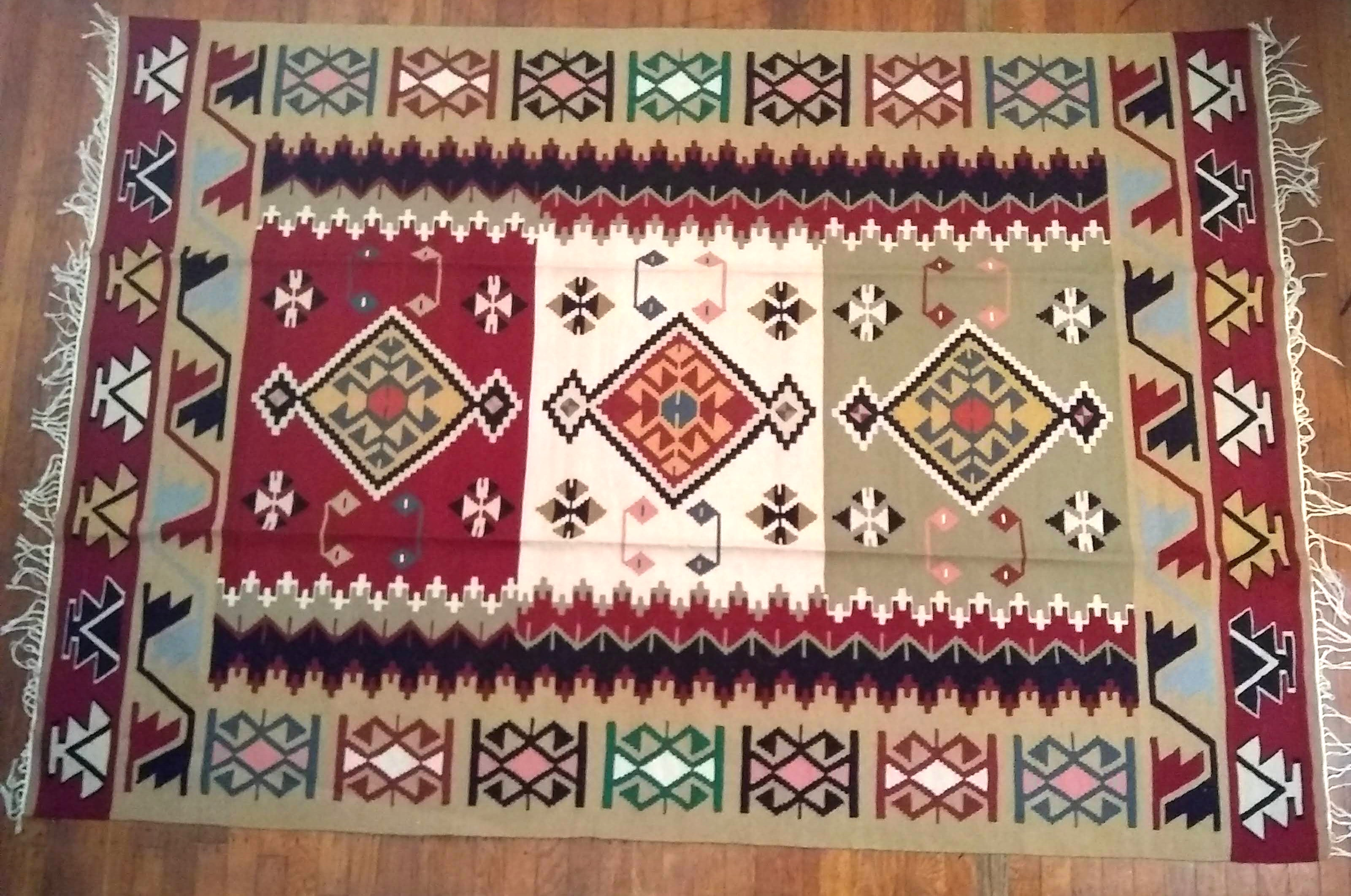 Tribal Kilim Area Rug