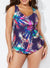 PISA SARONG FRONT ONE PIECE SWIMSUIT