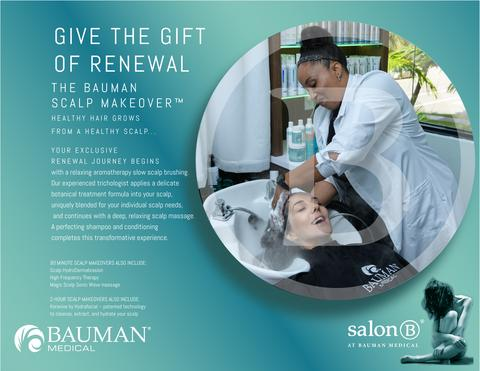 Gift E-cards for Bauman Scalp Makeover Experience