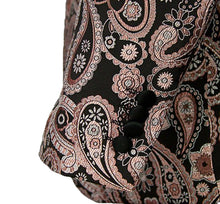 Load image into Gallery viewer, Pink/Black Stylish Paisley Tuxedo Dinner Jacket