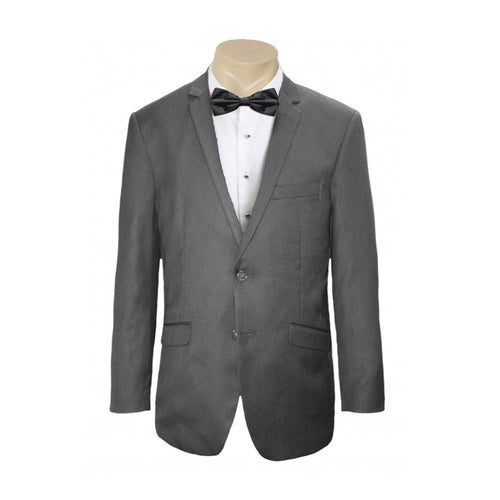Men's or Groomsmen's wedding Formal Charcoal Self Stripe business Jacket