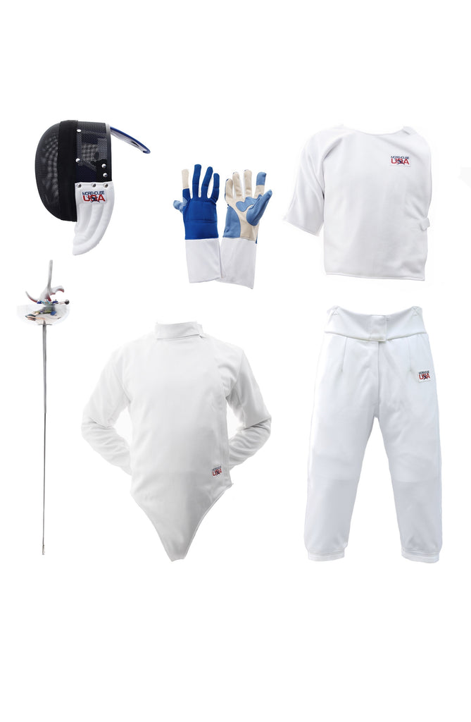 Epee Fencing Practice Starter Set Bundle