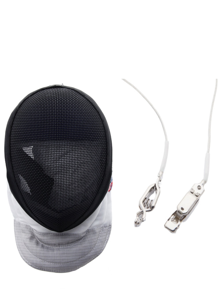 Foil Fencing Mask & Cord Bundle