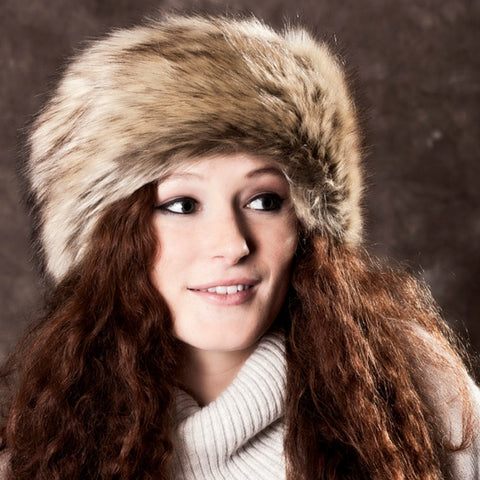 Golden Bear Faux Fur Hat