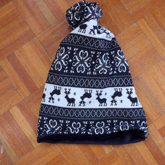 ski beanie hat and neckwarmer