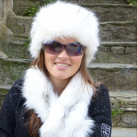 Snow Fox Headband - Small