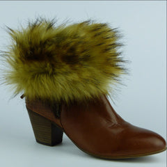 Golden Wolf Ankle Boot Cuffs