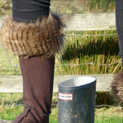 Raccoon Boot Warmers