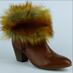 Red Fox Ankle Boot Cuffs