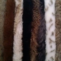 fur trims for coats and hoods