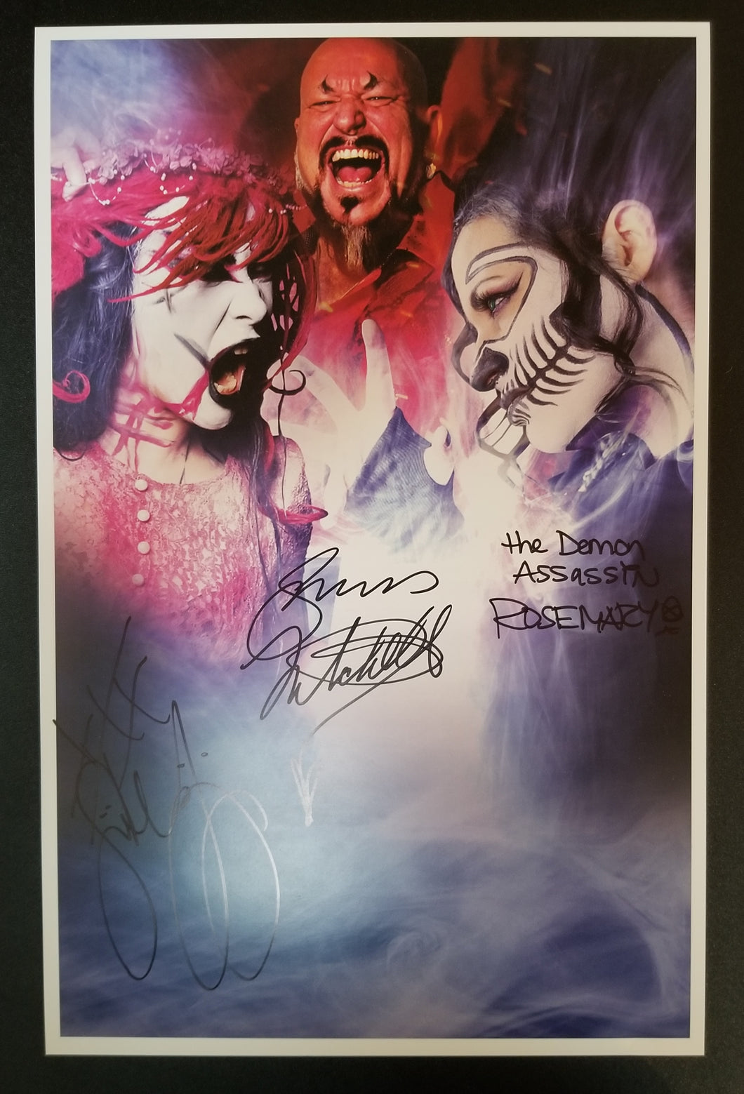 Dark War Limited Edition Autographed 11x17 Poster 1/13