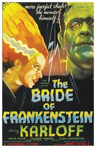 Bride of Frankenstein - 11x17 Poster Print
