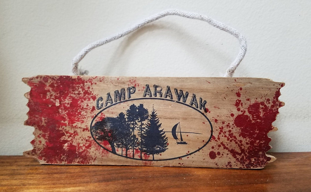 Camp Arawak Mini Wood Hanger