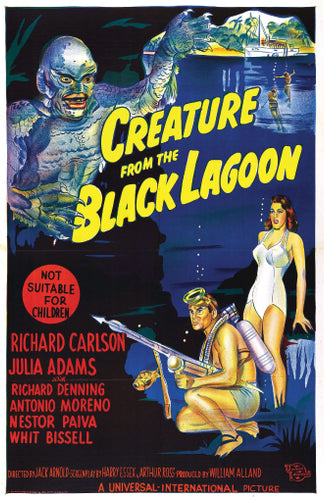 Creature From the Black Lagoon - 11x17 Poster Print