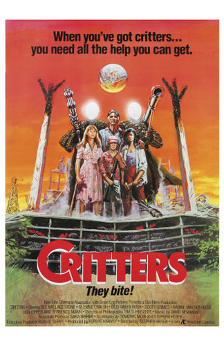 Critters - 11x17 Poster Print