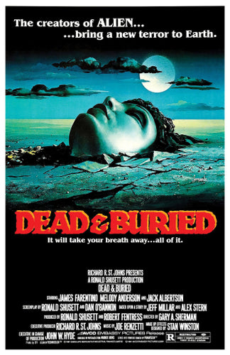 Dead and Buried - 11x17 Poster Print