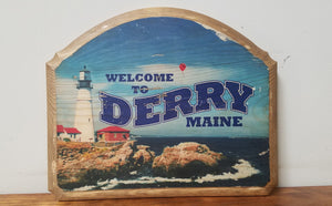 Derry Maine Sign Plaque