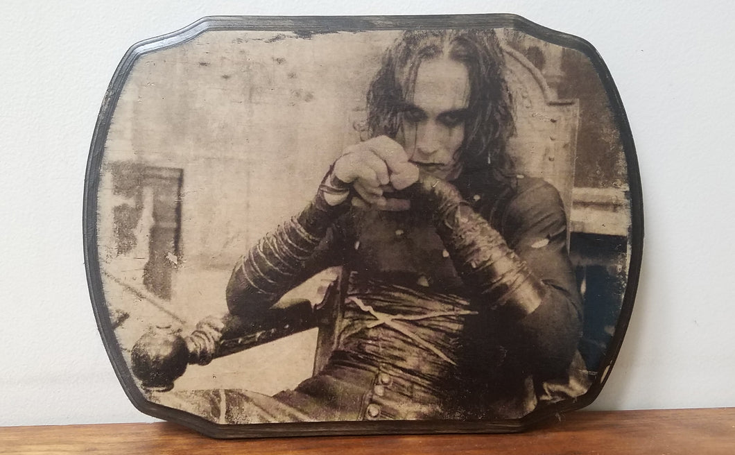 The Crow - Eric Draven Wood Plaque
