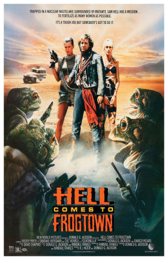 Hell Comes to Frogtown - 11x17 Poster Print