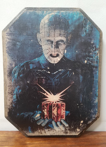 Hellraiser - Pinhead Wood Plaque