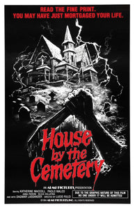 House By The Cemetery - 11x17 Poster Print