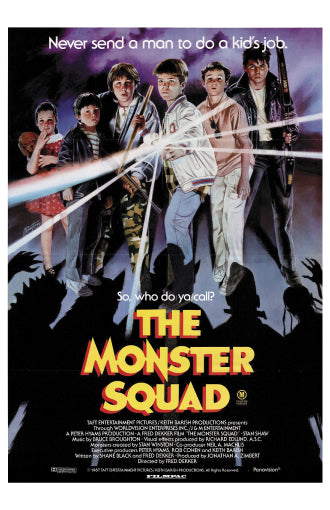 Monster Squad - 11x17 Poster Print