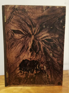 Handmade Evil Dead Wooden Neconomicon Storage Stash Box