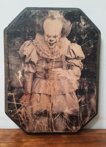 Pennywise - IT Wood Plaque
