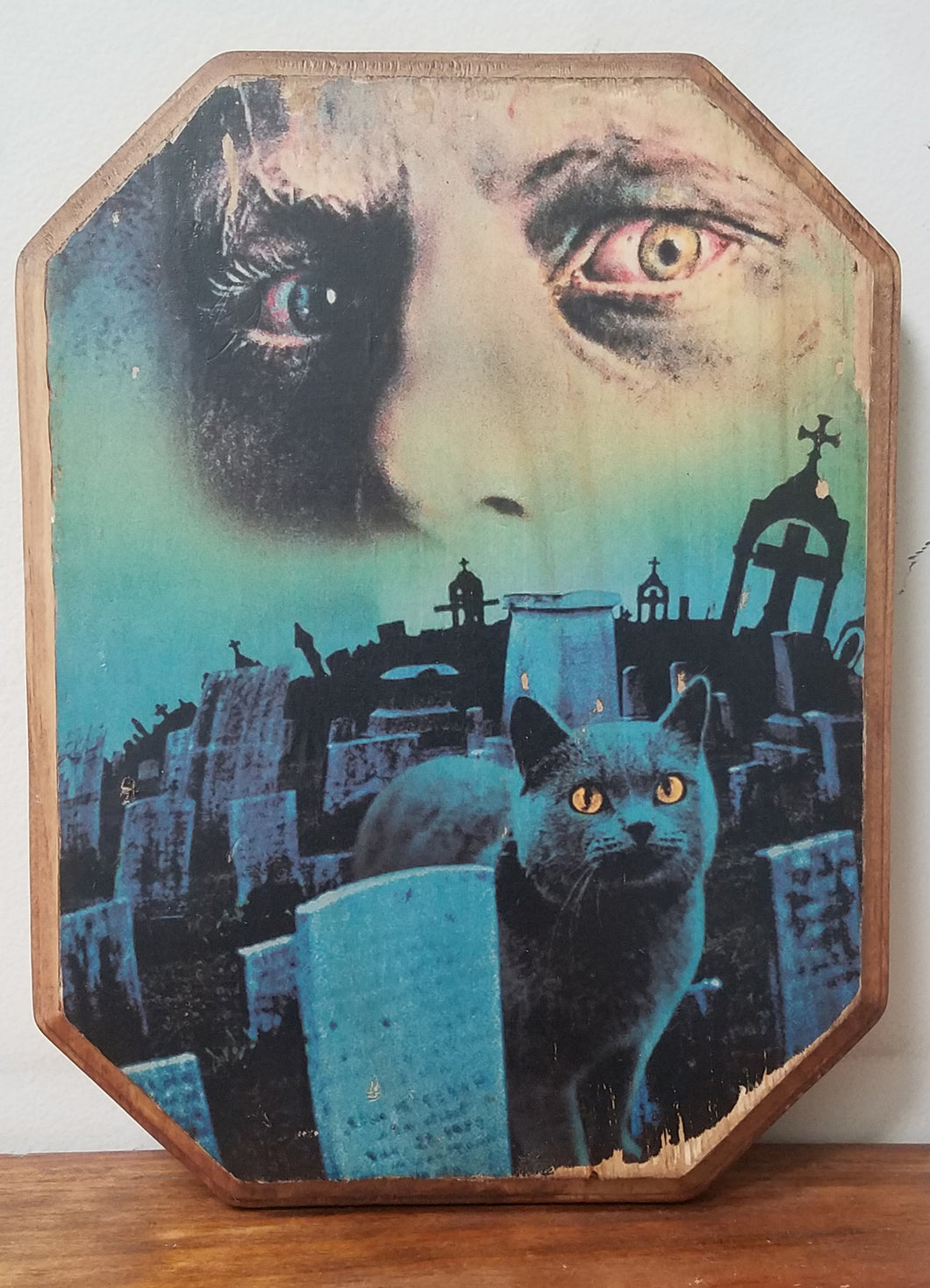 Pet Sematary Wood Plaque