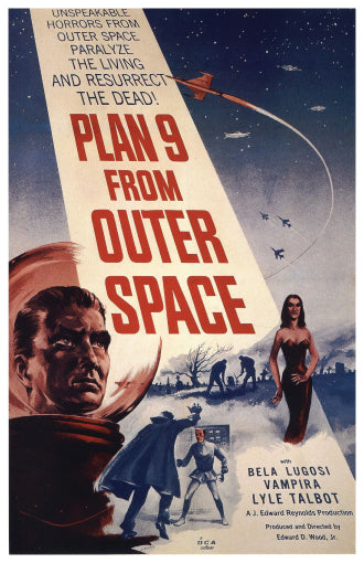 Plan 9 From Outer Space - 11x17 Poster Print