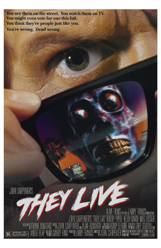 They Live - 11x17 Poster Print