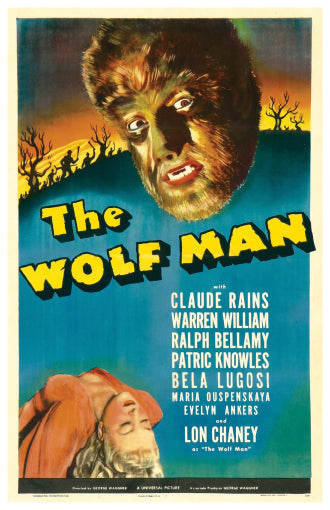 The Wolf Man - 11x17 Poster Print