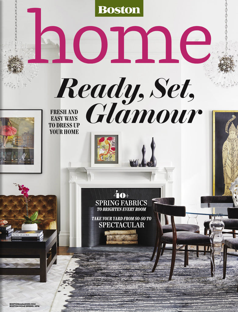 Boston Home Spring 2016 Featuring Interior Designer Liz Caan
