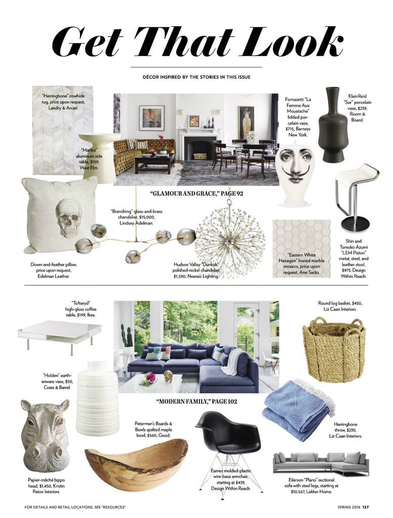 Boston Home featuring Liz Caan Interiors in Get That Look