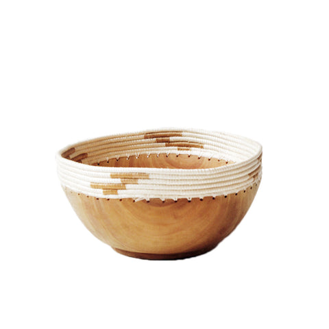 Tea & White Copabu Bowl