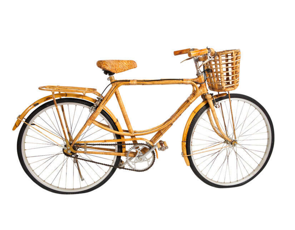 Vintage Bamboo Bicycle