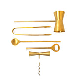 Brass Bar Set