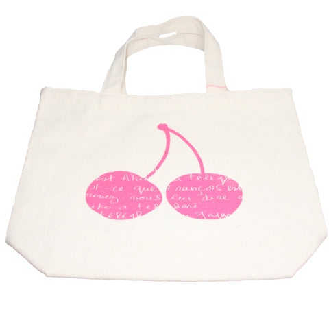 Cherries Organic Cotton Bag