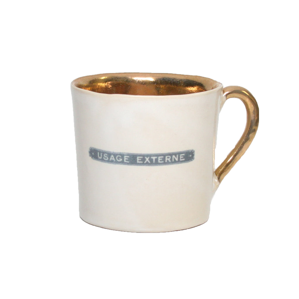 Gold Interior Alice Coffee Cups