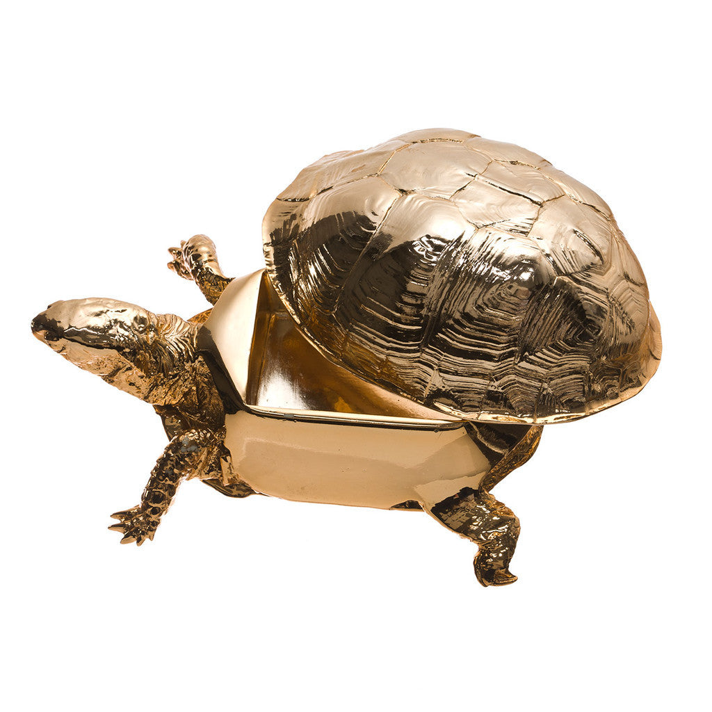 Gold or Copper Turtle Box