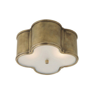 Natural Brass Ceiling Mount