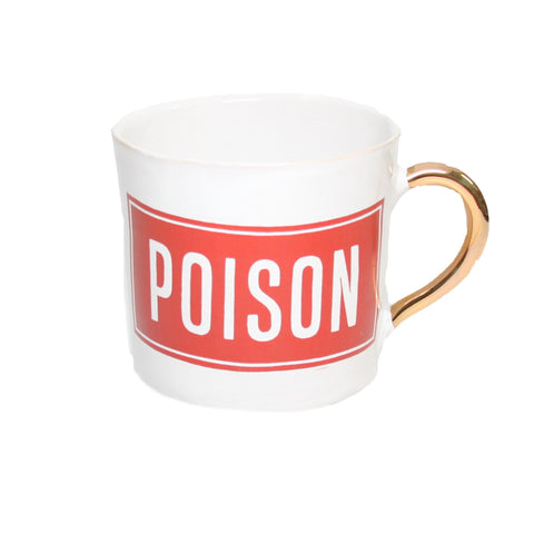 POISON Alice Coffee Cups