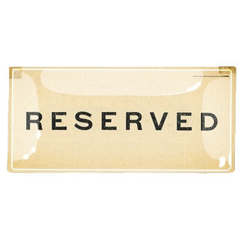Reserved Tray
