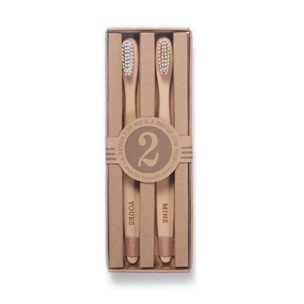 Yours & Mine Toothbrush Set