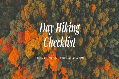 The Day Hiking Checklist