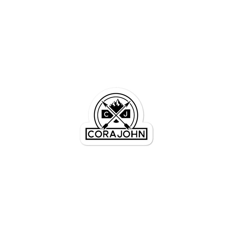 CoraJohn Bubble-free vinyl stickers