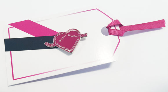 Heart Pin Gift Tag