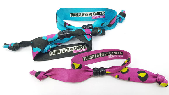 Band Against Cancer 2020- Pack of 3 Mixed Bands