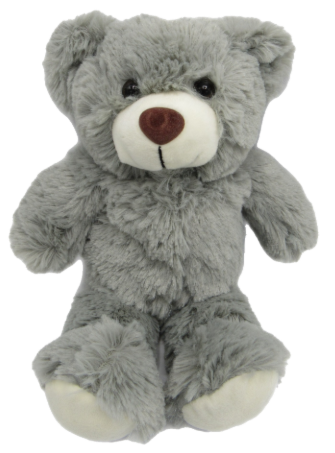 Cuddly Grey Teddy Bear